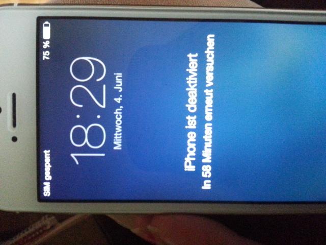 iphone sim gesperrt