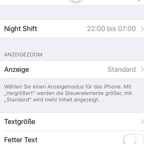 So sieht es bei meinem iPhone aus - (Handy, Technik, iPhone)