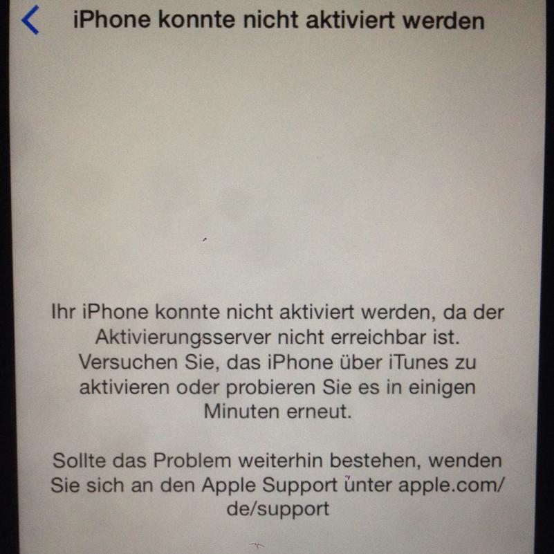 iphone 6 lässt sich nicht mehr laden