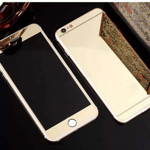 (Beispiel) - (iPhone, Gold, Panzerglas)
