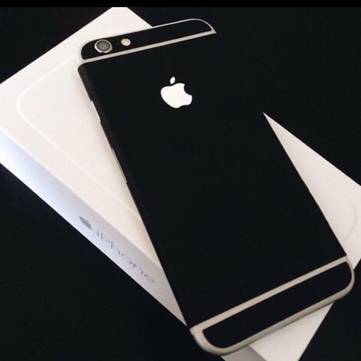 iphone 6 schwarz matt machen apple. Black Bedroom Furniture Sets. Home Design Ideas