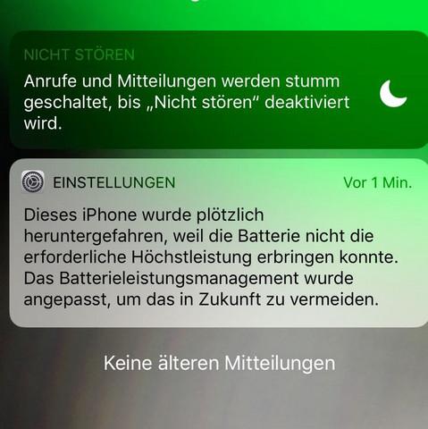 Nachricht - (Handy, Technik, iPhone)