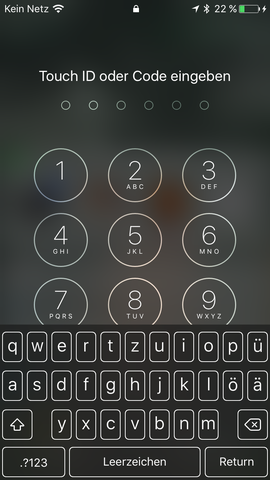 Bild - (iPhone, Tastatur, Einstellungen)