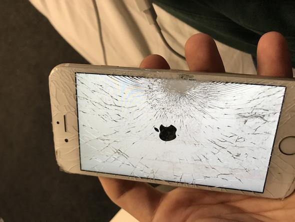 iPhone 6s geht an und aus (Apple Logo)? (Displayschaden)
