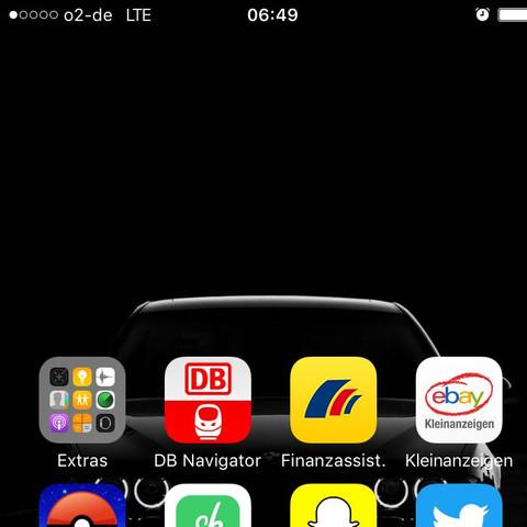 Der Screenshot  - (iPhone, Apple, Iphone 7)