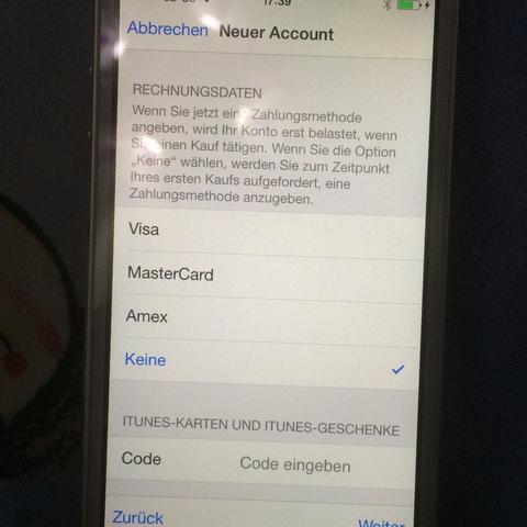 Mus ich dann etwas bezahlen?  - (iPhone, Apple, apple-store)