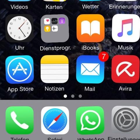 IPHONE 7 APPS LÖSCHEN NICHT MÖGLICH