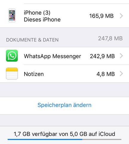 Da steht 160 mb :'( - (Handy, Backup, Speicherplatz)