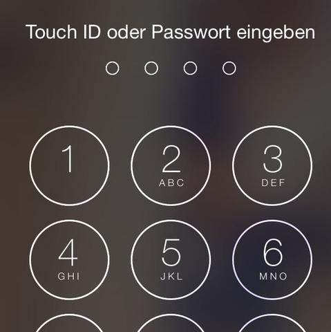 Code zum entsperren  - (iPhone, Apple, ios)