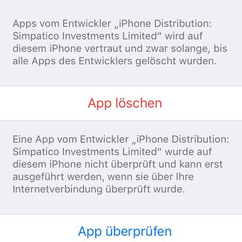 Einstellungen  - (iPhone, Apple, Smartphone)