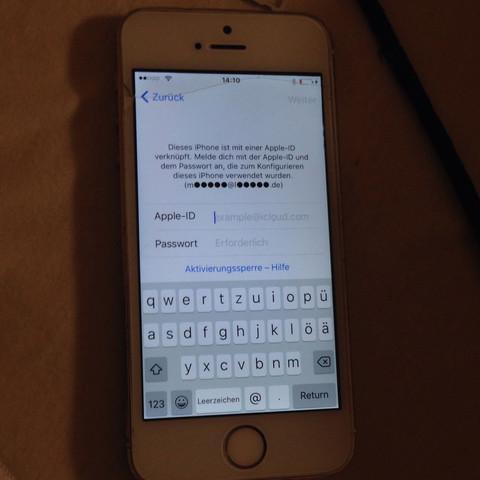 Das ist es ich kenne nichts mehr davon  - (iPhone, iCloud umgehen)