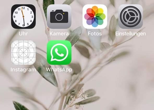 iPhone Instagram lässt sich weder öffnen noch köschen?
