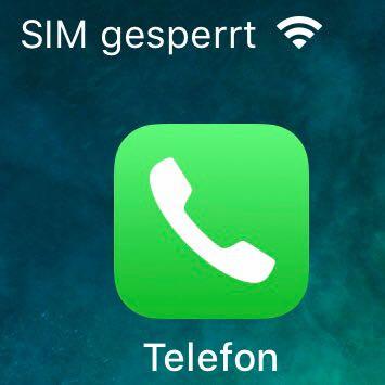 Iphone Sim Lässt Sich Nicht Mehr Entsperren Apple Sim Karte
