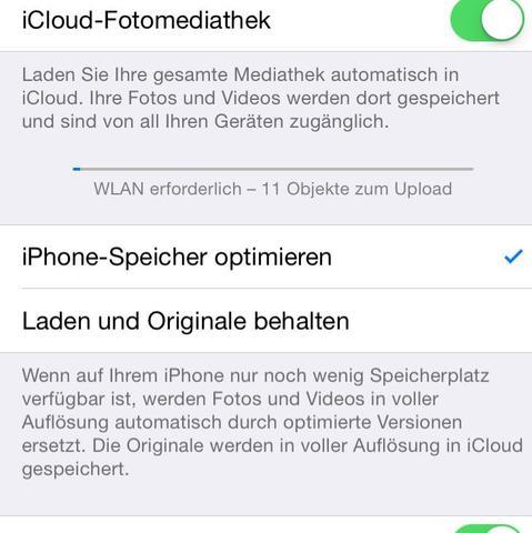 iPhone Speicher optimieren  - (iPhone, Apple, Bilder)