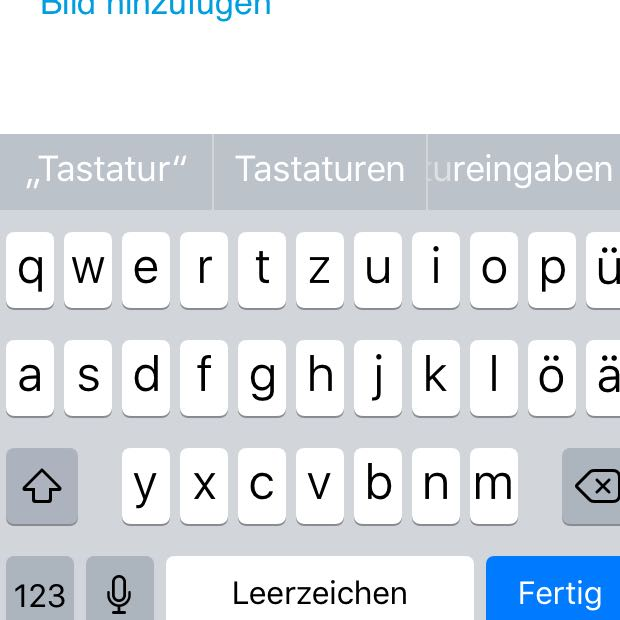 Whatsapp Tastatur