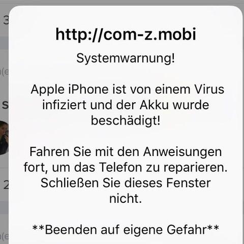 Was soll ich jetzt tun? - (iPhone, Apple, Virus)