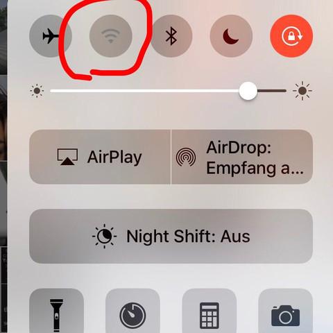 iphone 6 wlan geht nicht mehr an