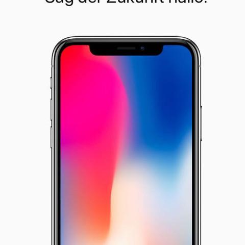 iPhone X im Apple Store  - (Apple, Apple TV, Apple watch)