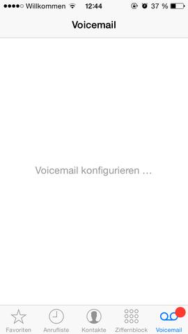 das ist es. - (iPhone, voicemail)