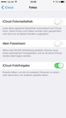 Einstellungen - (Apple, iPhone, iPad)