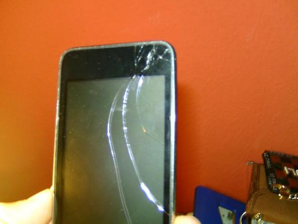 iPod Display - (Apple, iPod Touch, defekt)