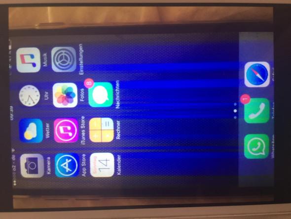 iphone x streifen im display