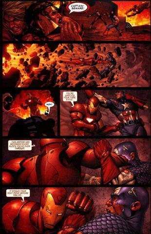 Der Kampf 1  - (Comic, Kampf, Marvel)