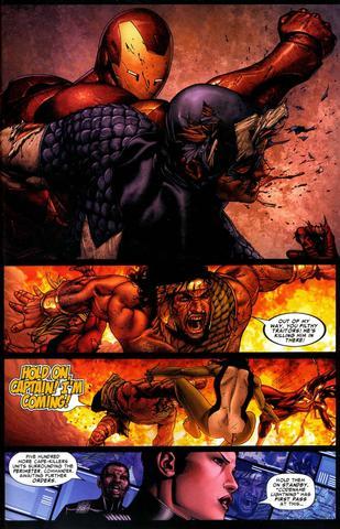 Der Kampf 2  - (Comic, Kampf, Marvel)