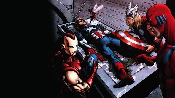 Captain America ist tot? - (Comic, Kampf, Marvel)