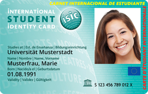 ISIC - (Berlin, Bus, Student)