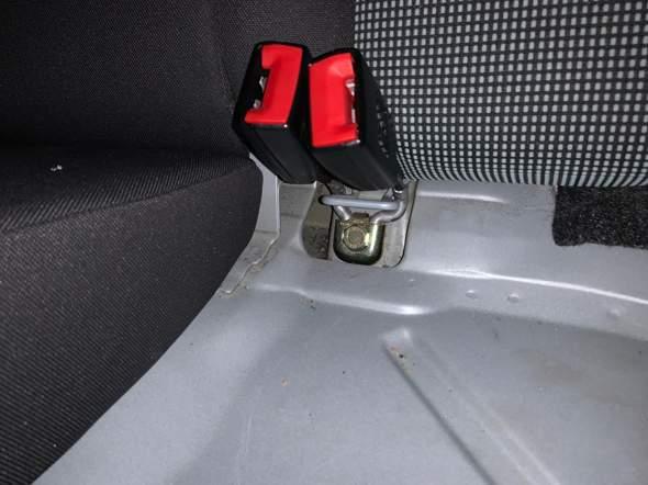 Isofix beim Seat Ibiza 6l?