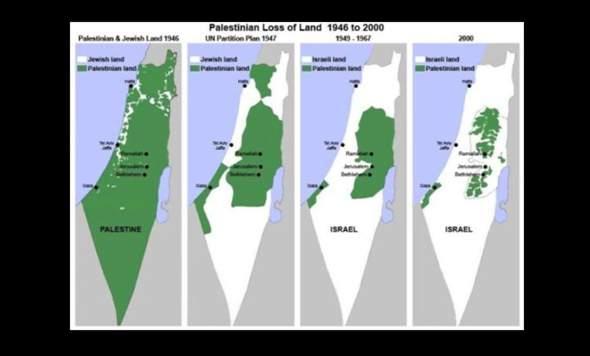 Isreal wie sind die eigentlich nach palästina gekommen?