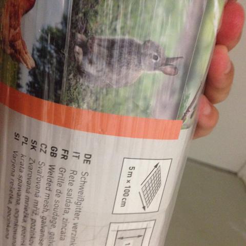 Ist das , dass richtige Kaninchen Gehege Draht?