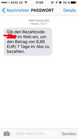 SMS - (Handy, Vertrag, Abzocker)