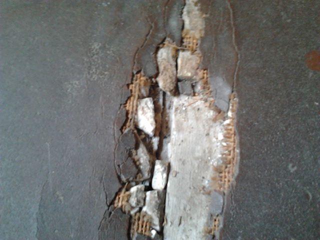 Ist das Asbest Treppenhaus Haus Bau