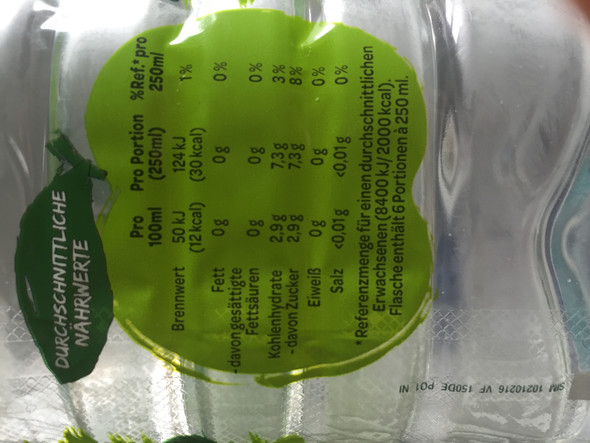 Ist das auf 1,5 liter ungesund - (ungesund, Volvic apfelwasser)