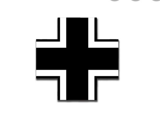 Ist das Balken Kreuz urheberrechtlich geschützt?