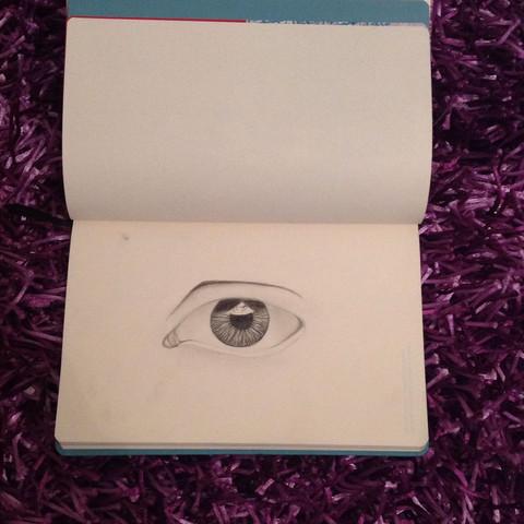 - (Augen, Farbe, zeichnen)
