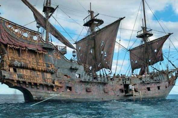 Ist das dass echte Schiff von Blackbeard oder eine Nachmache?