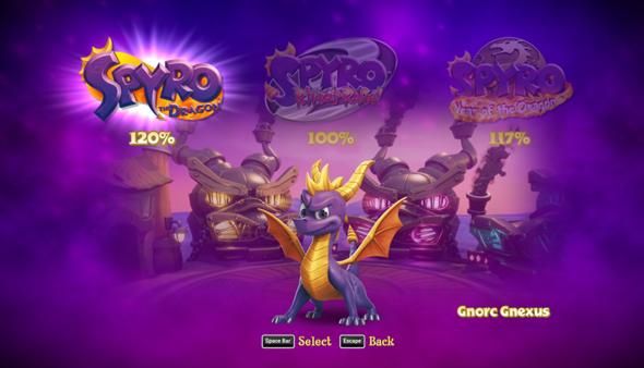 Ist das der höchst möglicher Spielstand bei Spyro Reignited Trilogy(Bild)?