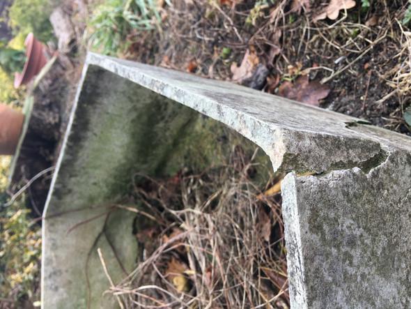 Super Ist das ein Asbest -Blumenkübel? (Baustoffe) WW55