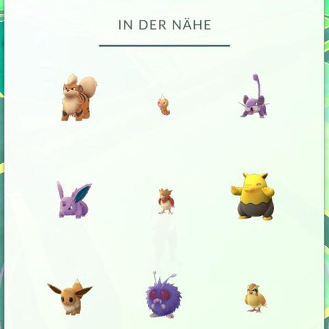 Hier drauf geklickt warum ist das funkano nun links und nicht rechts - (Fehler, Bug, Pokemon Go)
