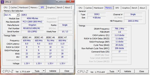 RAM Modul Stats - (PC, RAM, Arbeitsspeicher)