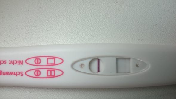 Verdungungslinie oder positiv  - (Gesundheit, Baby)
