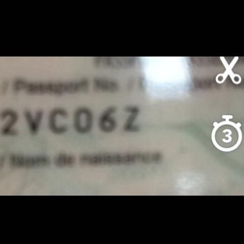 Ist Das Eine 0 Oder Ein O Reise Flug Reisepass