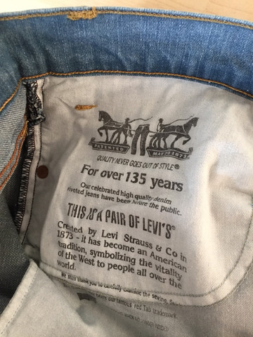Bild 4 - (Jeans, Fake, original)