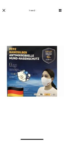 Ist das eine ffp2 Maske waschbar ? (Gesundheit)