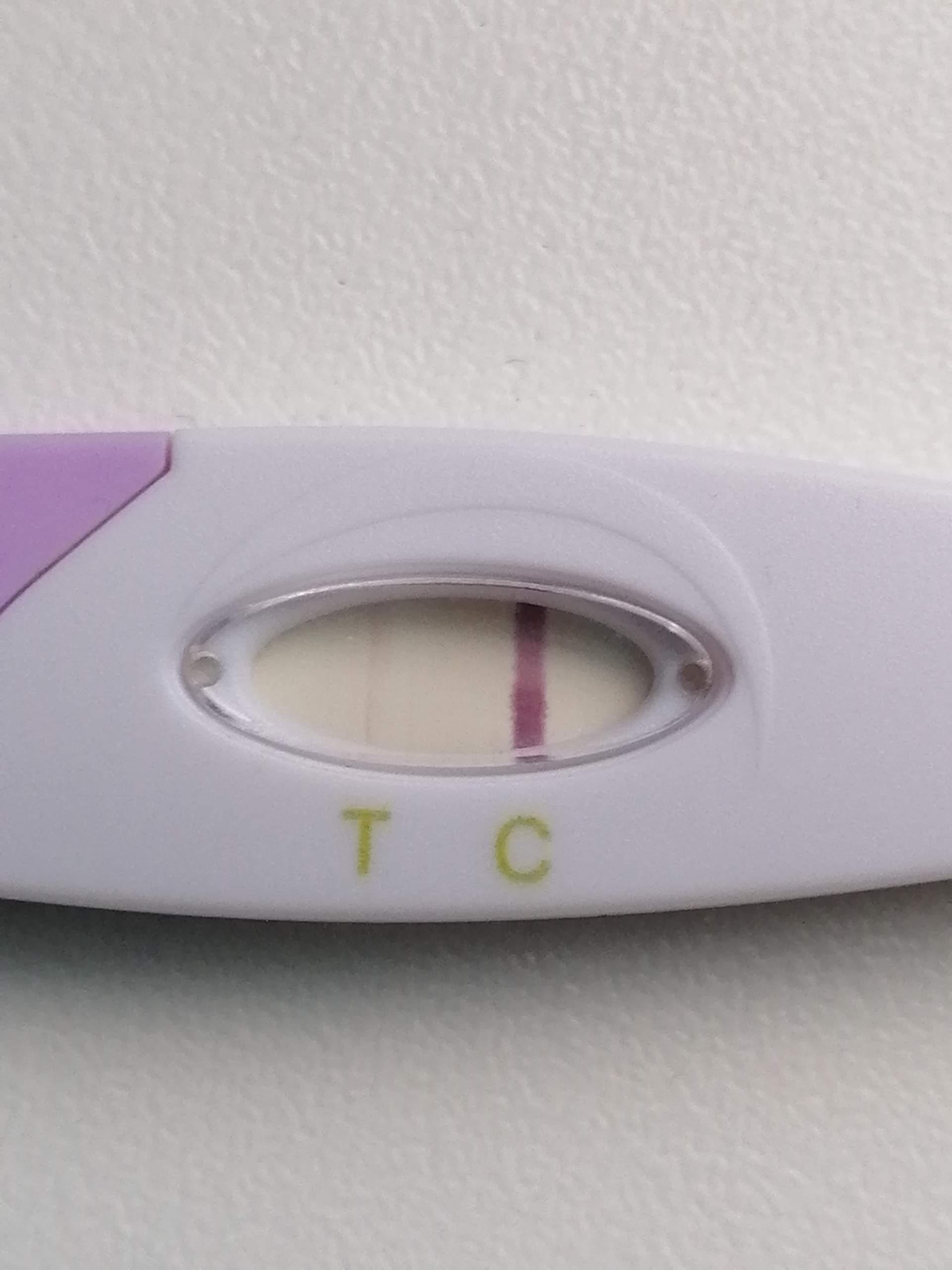 Easy verdunstungslinie clearblue Pregnancy Test