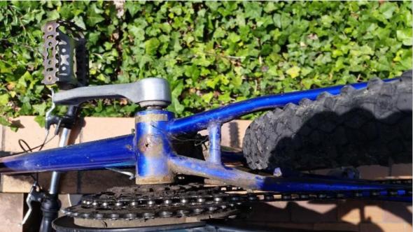 Rost an Fahrradunterseite - (Technik, Fahrrad, Sicherheit)