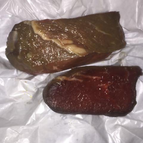 Ist das Fleisch noch gut, was meint ihr?